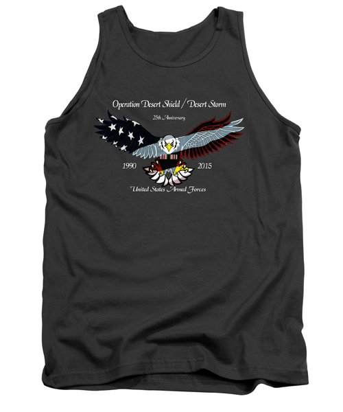 Desert Storm 25th Anniversary Tank Top