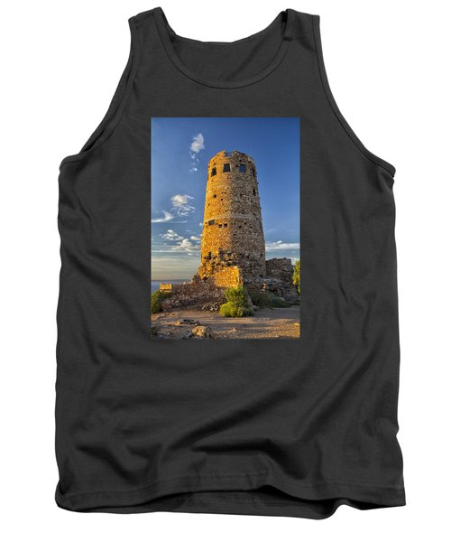Tank Top featuring the photograph Desert View by Tom Kelly
