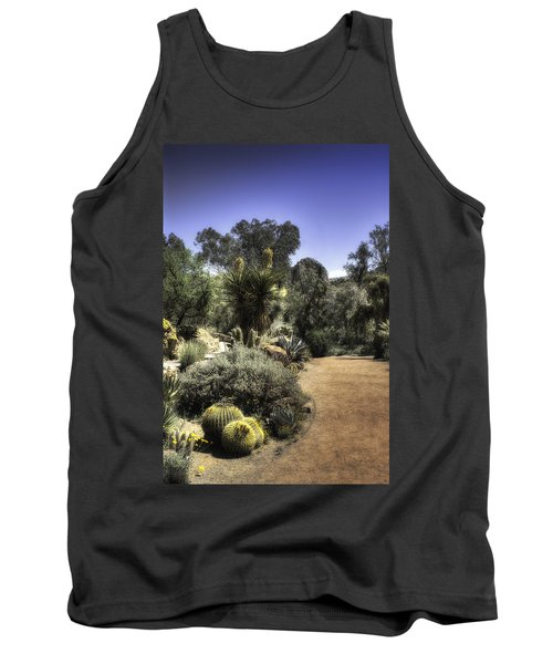 Tank Top featuring the photograph Desert Walkway by Lynn Geoffroy