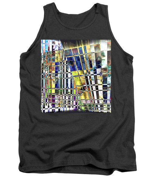 Desperate Reflections Tank Top by Seth Weaver