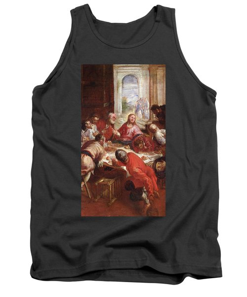 Detail Of The Last Supper Tank Top