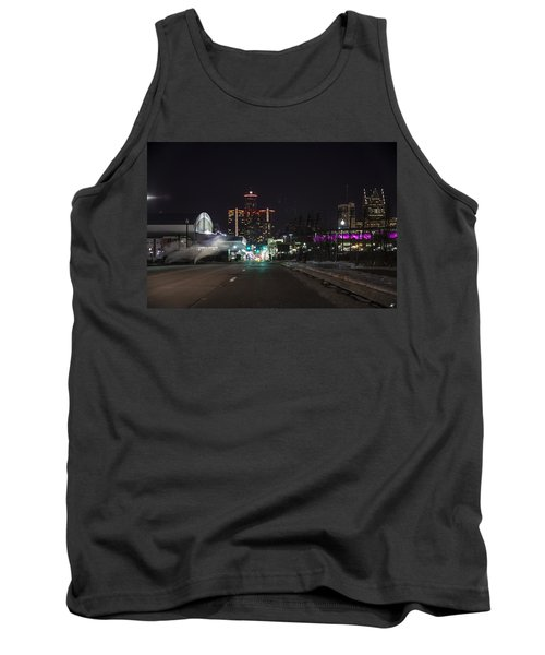 Tank Top featuring the photograph Detroit Michigan by Nicholas Grunas