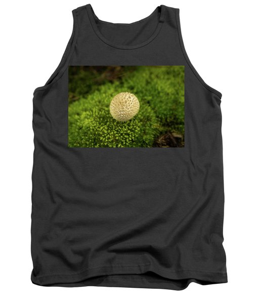 Developing Mushroom On A Bed Of Moss Tank Top