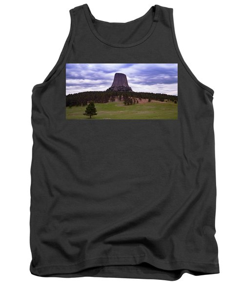 Tank Top featuring the photograph Devil's Tower 2 by Gary Lengyel