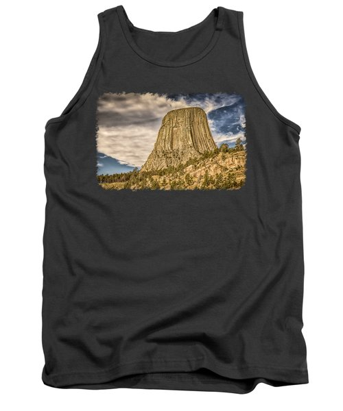 Devils Tower Inspiration 3 Tank Top
