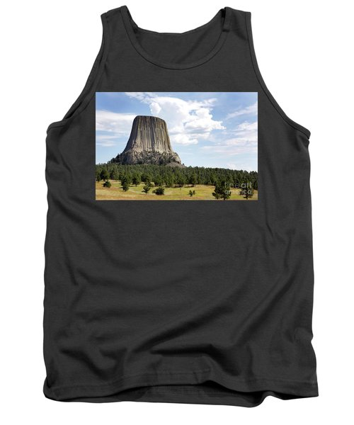 Devils Tower National Monument Tank Top