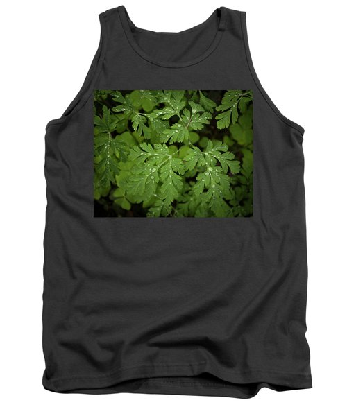 Dewey Leaves Tank Top