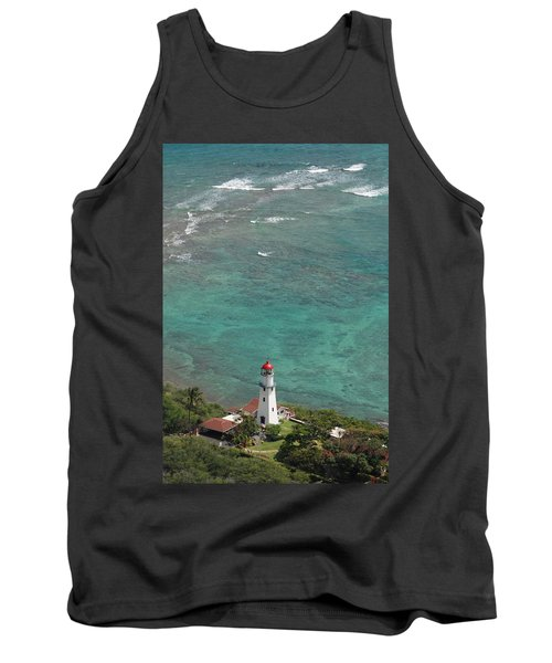 Diamond Head Lighthouse 3 Tank Top