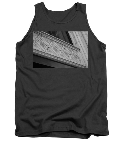 Diamond Patterns In Black And White Tank Top