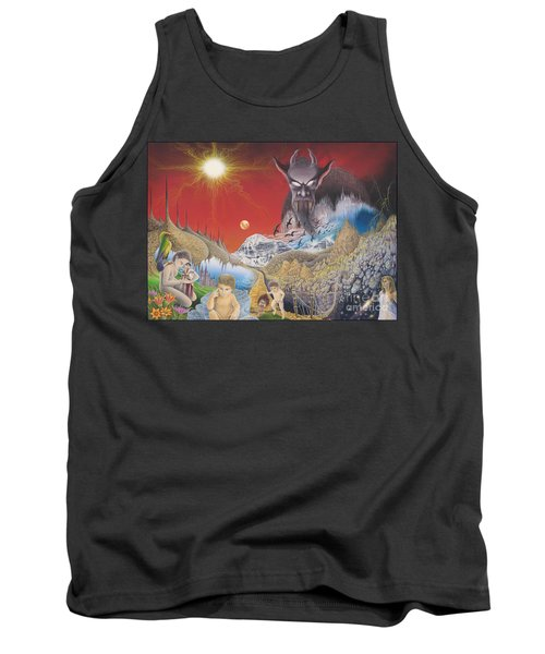 Diary Of Second Recognition Tank Top