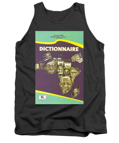 Tank Top featuring the painting Dictionary Of Negroafrican Celebrities 1 by Emmanuel Baliyanga
