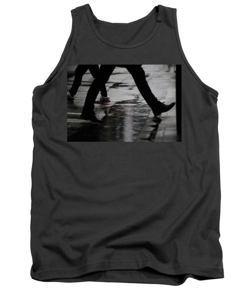 Tank Top featuring the photograph different Directions  by Empty Wall