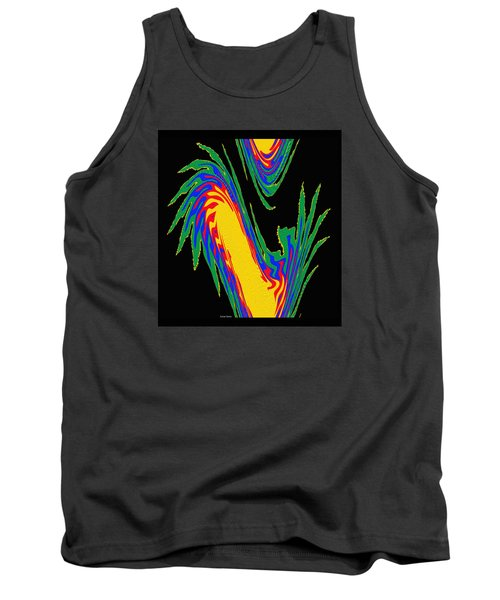 Tank Top featuring the photograph Digital Art 10 by Suhas Tavkar