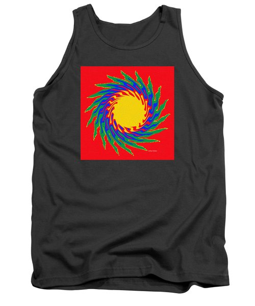 Tank Top featuring the photograph Digital Art 8 by Suhas Tavkar
