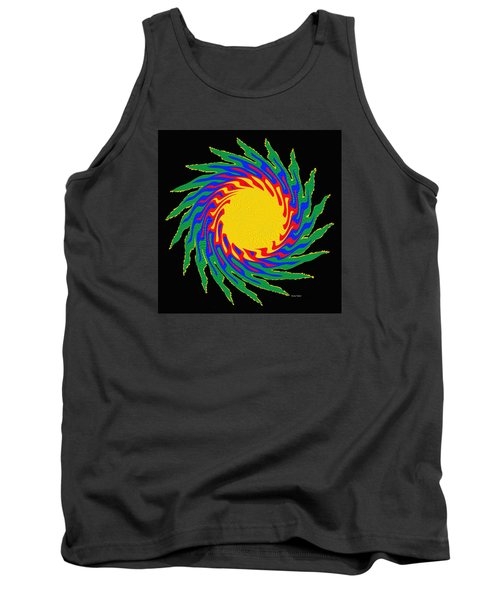 Tank Top featuring the photograph Digital Art 9 by Suhas Tavkar