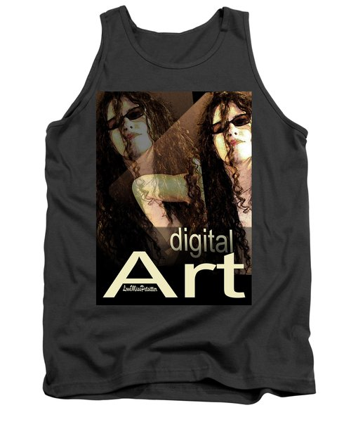 Digital Art Poster Tank Top