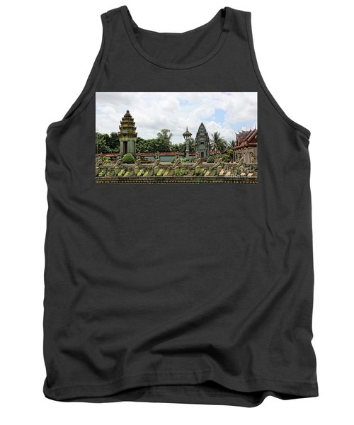 Digital Cambodia Architecture  Tank Top