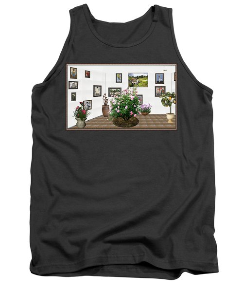 Digital Exhibition _ Roses Blossom 22 Tank Top by Pemaro