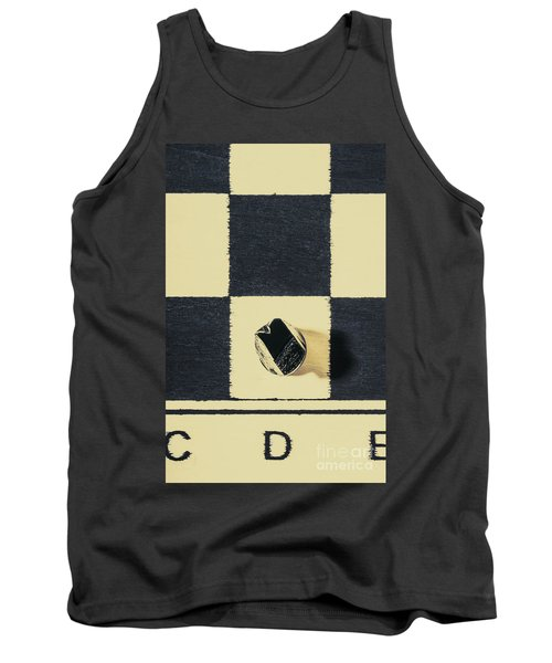 Dimensional Chess Tank Top
