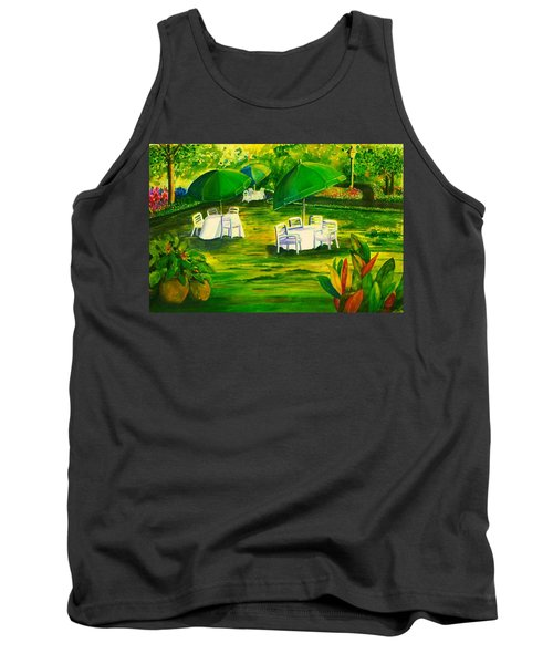 Dining In The Park Tank Top