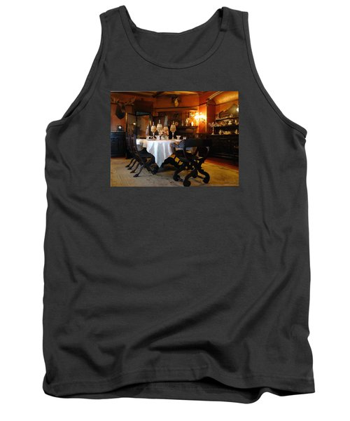 Dining Room Tank Top by Mikki Cucuzzo