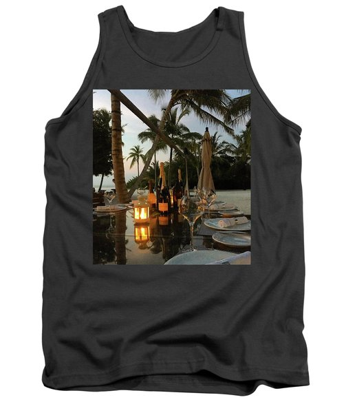 Dinner At The Beach Tank Top