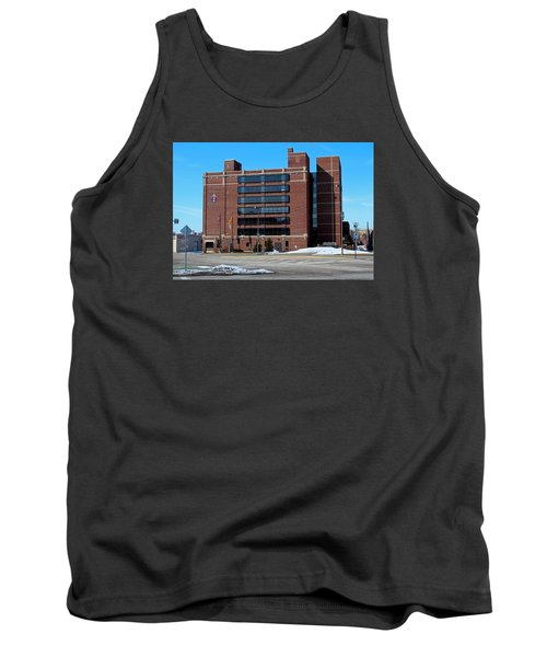 Tank Top featuring the photograph Diocese Of Toledo In Winter by Michiale Schneider