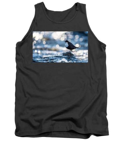 Dipper On Ice Tank Top by Torbjorn Swenelius