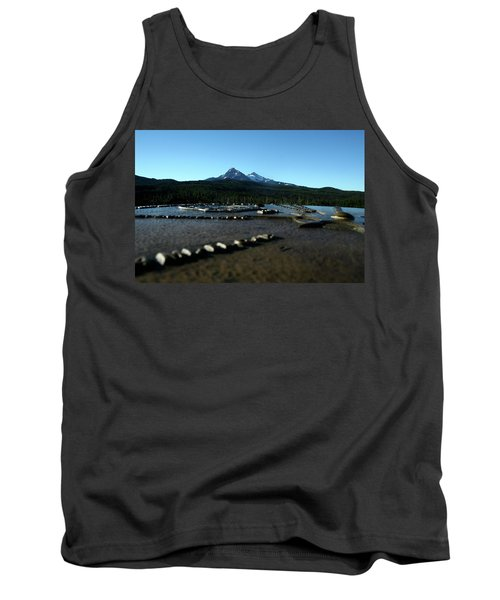 Tank Top featuring the photograph Directional Points by Laddie Halupa