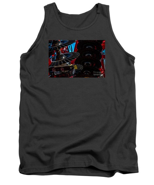 Tank Top featuring the photograph Disc Drive by Trey Foerster