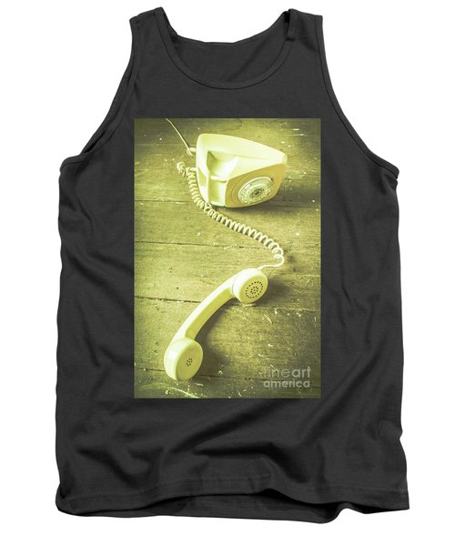 Disconnected Tank Top