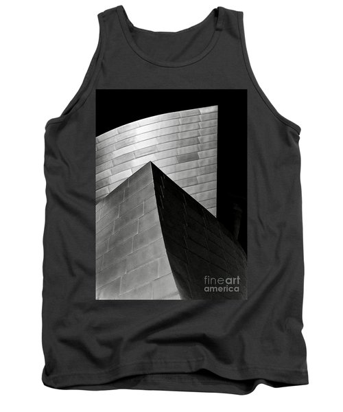 Disney Concert Hall Black And White Tank Top