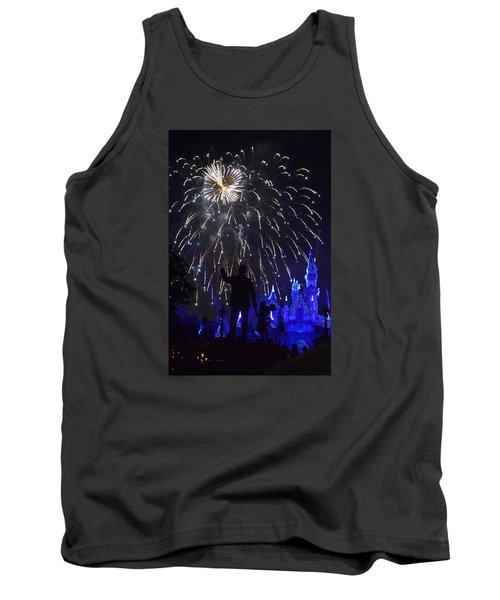 Disneyland By Fireworks Tank Top