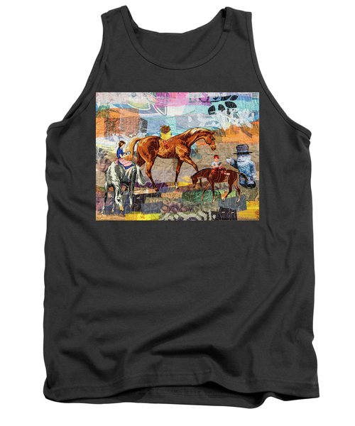 Distracted Riding Tank Top