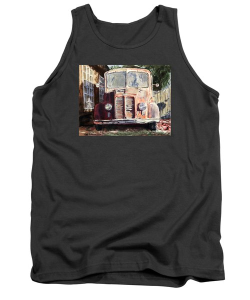 Divco Truck Tank Top by Joey Agbayani