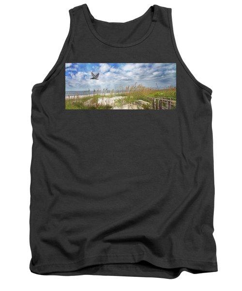 Divine Beach Day Special Crop Tank Top