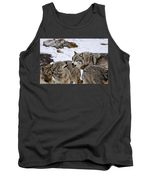 Tank Top featuring the photograph Do I Have Your Attention Now by Michael Cummings