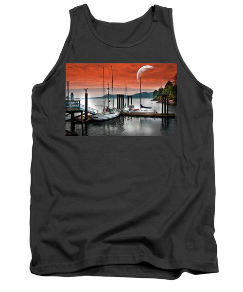Dock And The Moon Tank Top