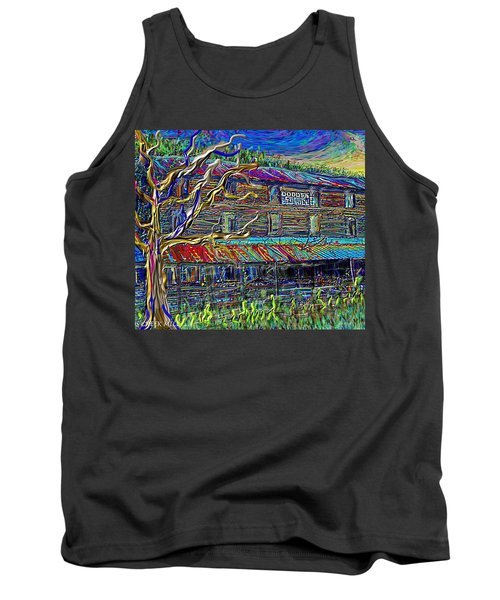 Dodds Creek Mill, ,floyd Virginia Tank Top