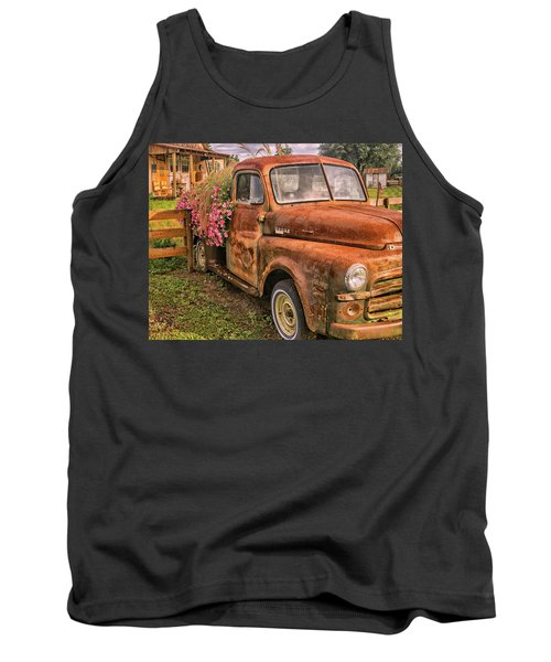 Dodge Flower Pot Tank Top