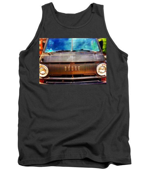 Dodge In Town Tank Top by Olivier Calas