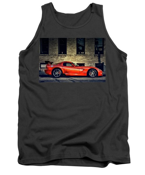 Tank Top featuring the photograph Dodge Viper by Joel Witmeyer