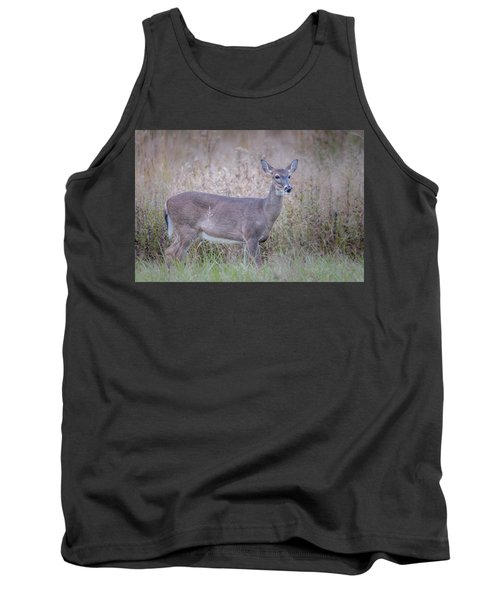 Tank Top featuring the photograph Doe by Tyson Smith