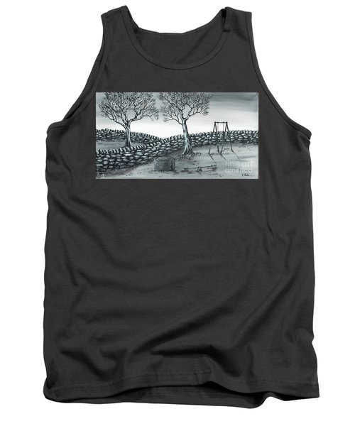 Tank Top featuring the painting Dog House by Kenneth Clarke