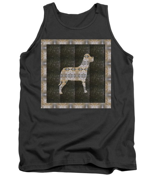 Dog Made Of Crystal Stone Rareearth Material Download Option For Personal Commercial Use Link Below  Tank Top