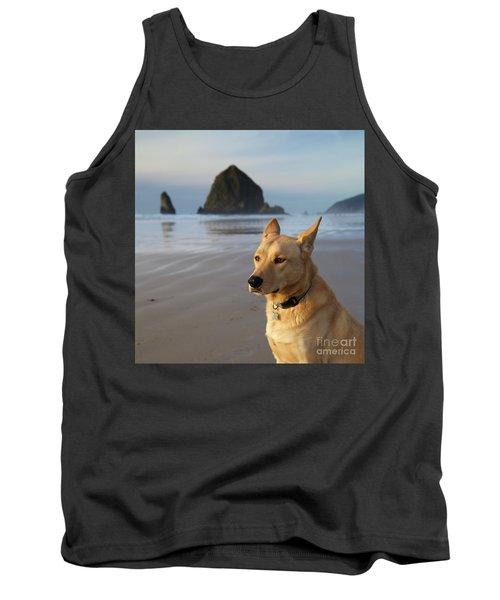 Dog Portrait @ Cannon Beach Tank Top