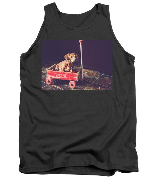 Doggy In A Wagon Tank Top