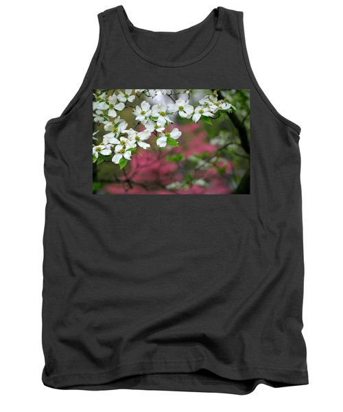 Dogwood Days Tank Top by Living Color Photography Lorraine Lynch