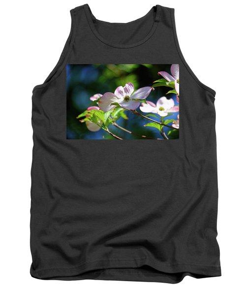 Dogwood Flowers Tank Top