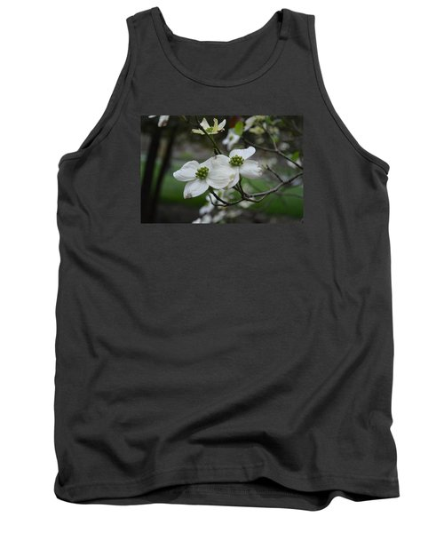 Tank Top featuring the photograph Dogwood by Linda Geiger